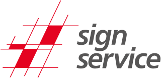 sign service as